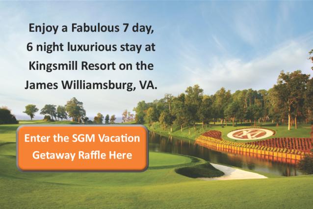 Sheltering Grace Vacation Raffle Getaway - Kingsmill Resort