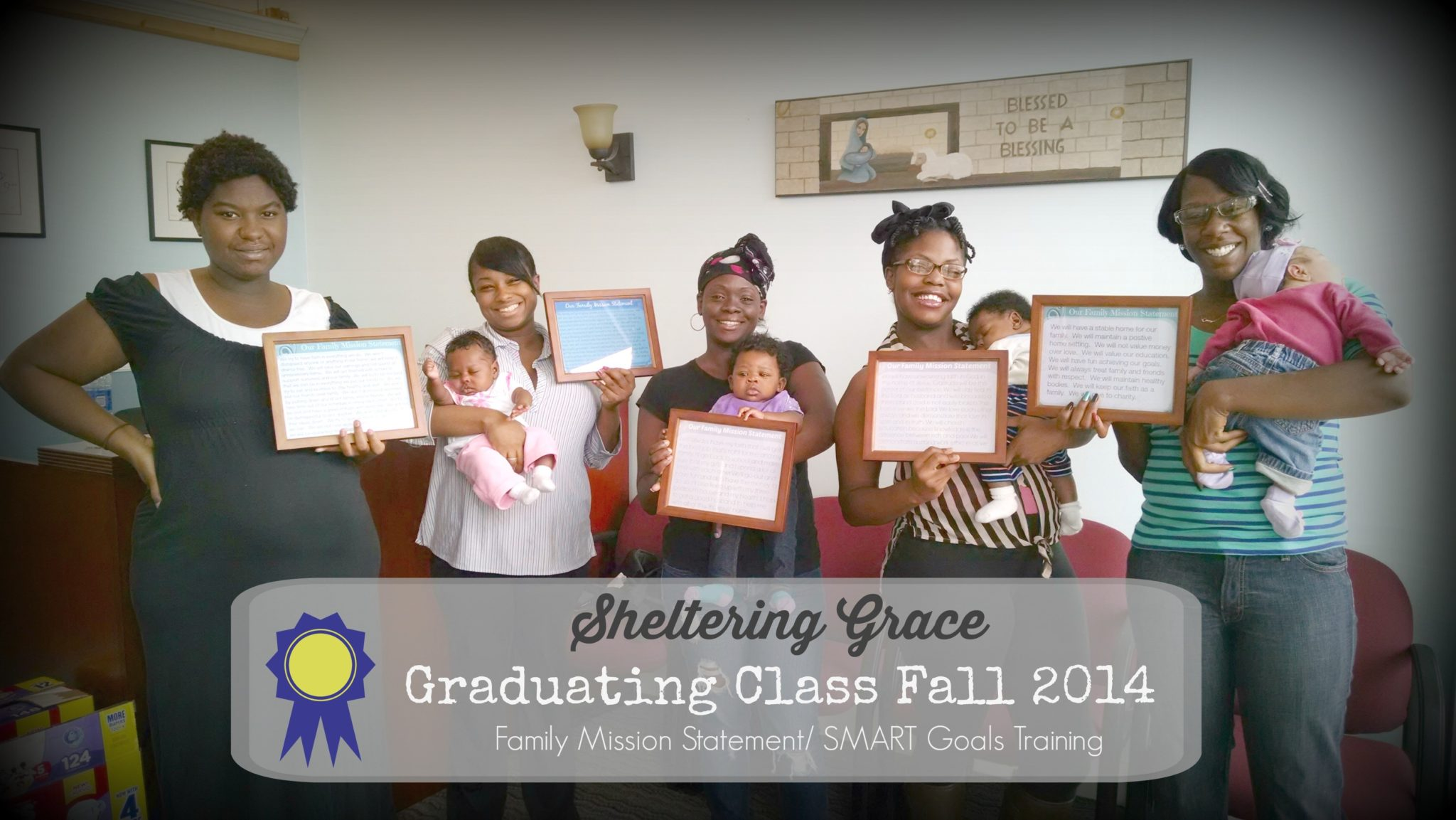 Sheltering Grace Ministry Graduates Fall 2014