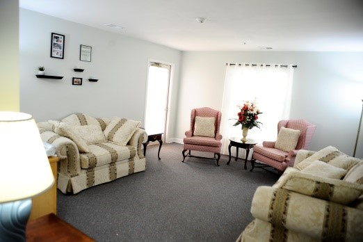 The parlor and relaxation room.