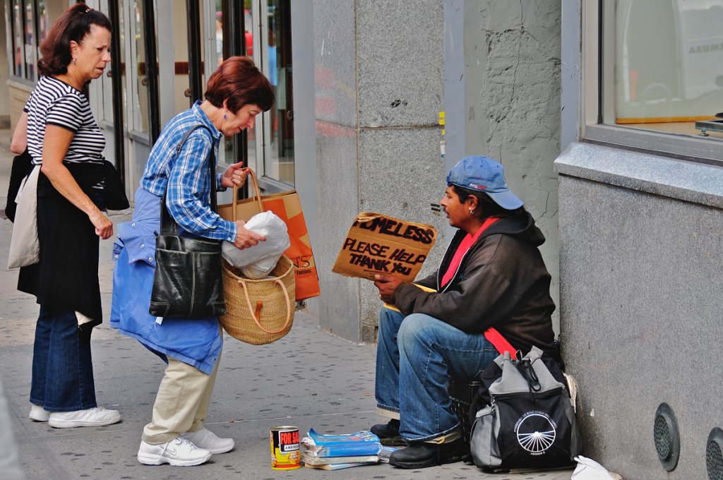 feeding the homeless