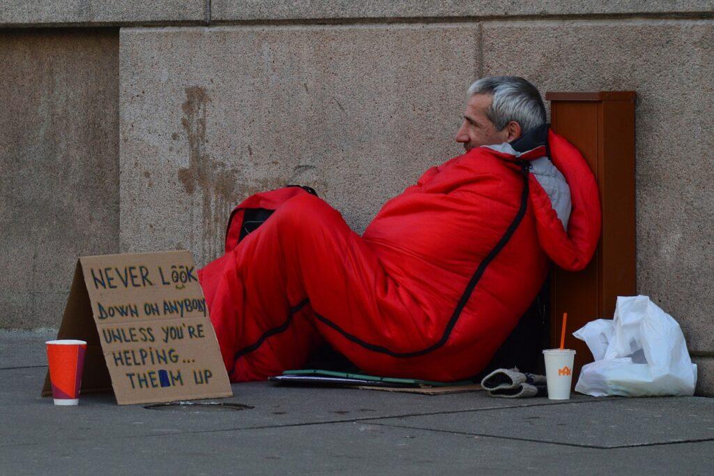 clothing for homeless