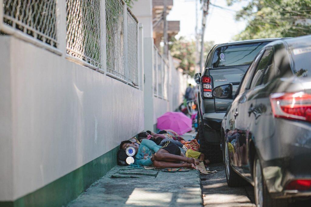 homeless with coronavirus risk