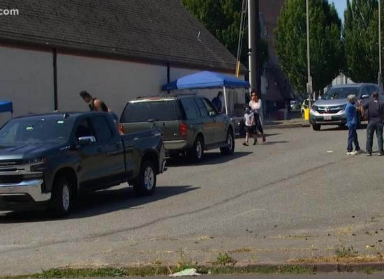 Everett, WA Sanctioned Homeless Camp