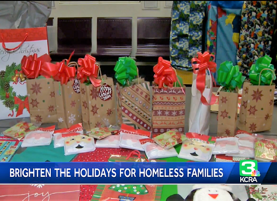 Sacramento Women's Group Brightens Holidays For Homeless Families