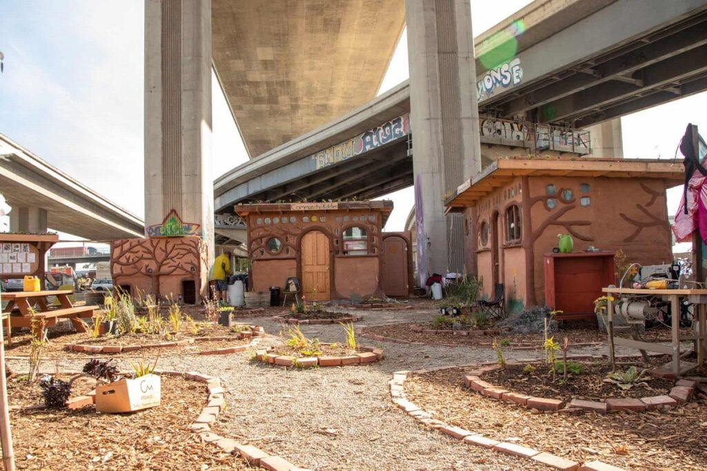 Homeless Oaklanders