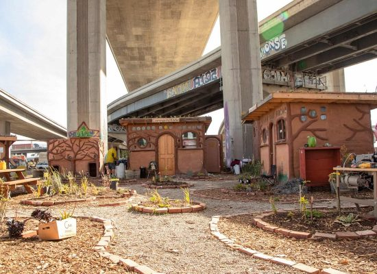 Homeless Oaklanders Build A Miracle Village